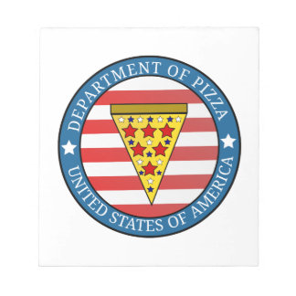Department of Pizza Notepad