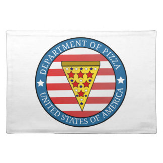Department of Pizza Placemat