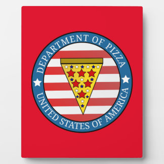 Department of Pizza Plaque