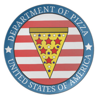 Department of Pizza Plate