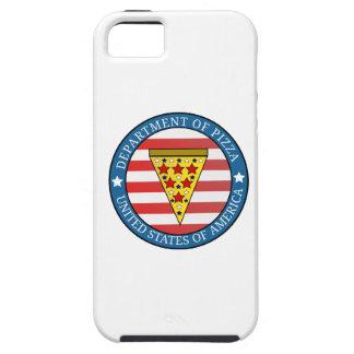 Department of Pizza Tough iPhone 5 Case