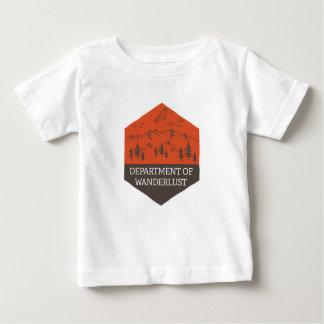 Department of Wanderlust Baby T-Shirt