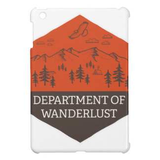 Department of Wanderlust Cover For The iPad Mini