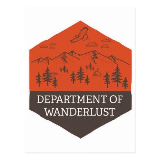 Department of Wanderlust Postcard