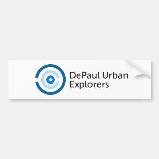 DePaul Urban Explorers Bumpersticker Bumper Sticker