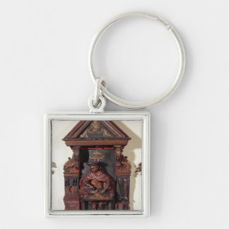 Depicting St. Crispin at his Workbench Key Ring