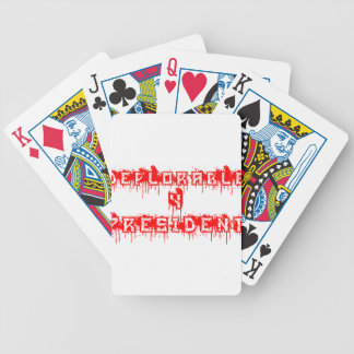 Deplorable 4 President Bicycle Playing Cards
