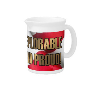 DEPLORABLE AND PROUD PITCHER
