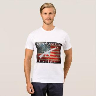 Deplorable Infidel Men's Outerwear T-Shirt