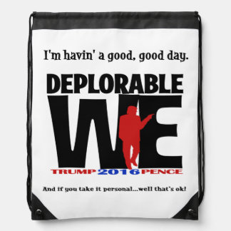 Deplorable Tote Bag