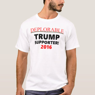 Deplorable Trump Support T-Shirt