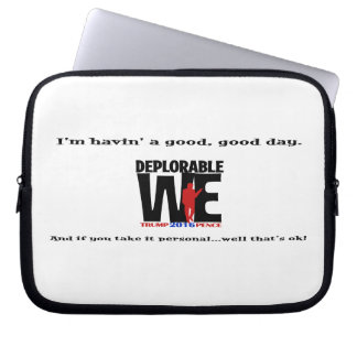 Deplorable We Computer Cover