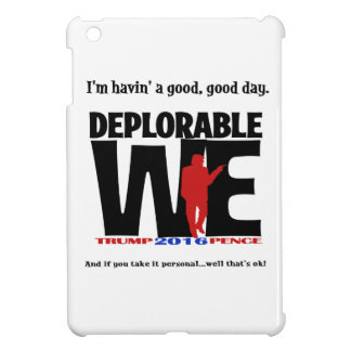 Deplorable We Computer Wear iPad Mini Cover