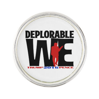 Deplorable We Lapel Pin