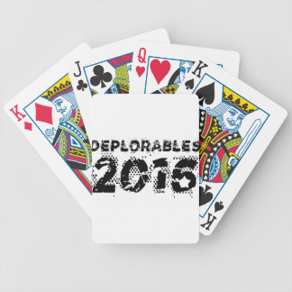 Deplorables 2016 bicycle playing cards
