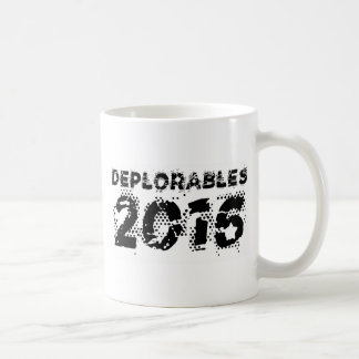 Deplorables 2016 coffee mug