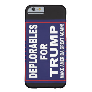 Deplorables for Trump Phone case