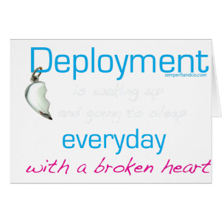 Deployment is... card