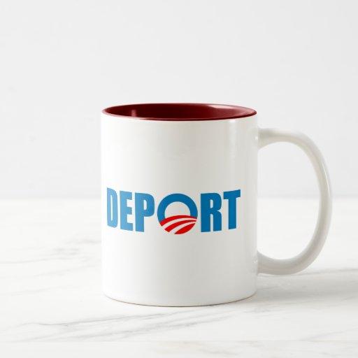 Deport Obama Now Coffee Mug