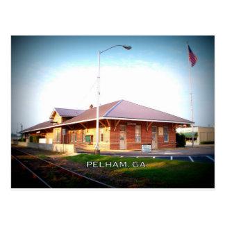 DEPOT - Pelham, Georgia Postcard