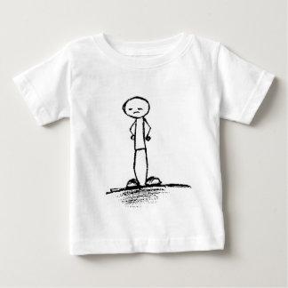Depressed Stick Figure Baby T-Shirt