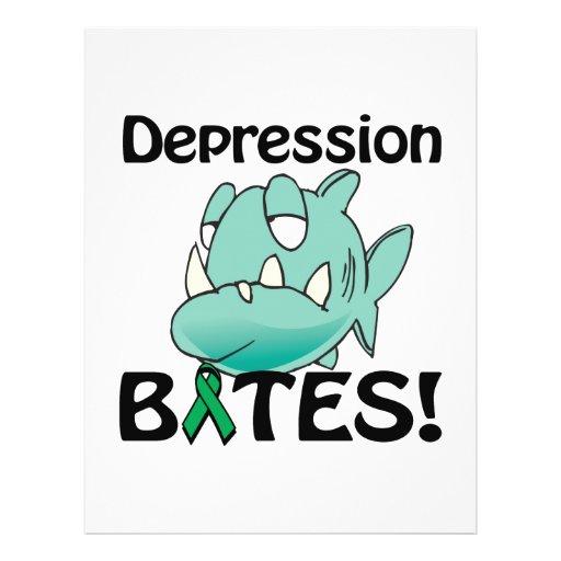 Depression BITES Full Color Flyer
