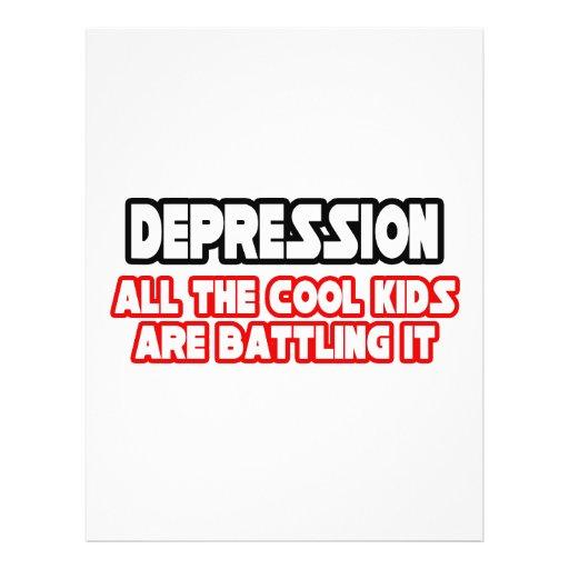 Depression...Cool Kids Full Color Flyer