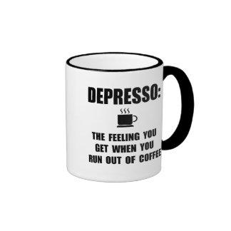 Depresso Coffee Ringer Mug