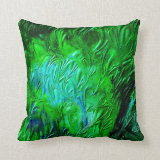 Depth of Green Cushion
