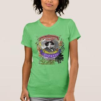 Depussy Cat Animal Composer Debussy Parody T-Shirt