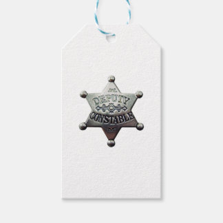 DEPUTY CONSTABLE GIFT TAGS