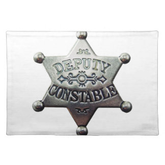 DEPUTY CONSTABLE PLACEMAT