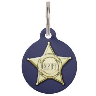 Deputy Pet ID Tag