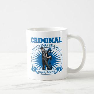 Deputy Sheriff Criminal Hunting Season Mug
