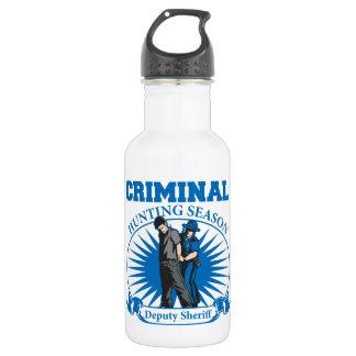 Deputy Sheriff Criminal Hunting Season 532 Ml Water Bottle