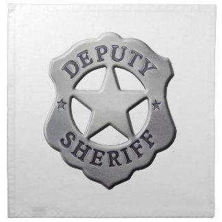 Deputy Sheriff Napkin