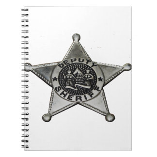 Deputy Sheriff Notebooks