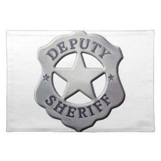 Deputy Sheriff Placemat