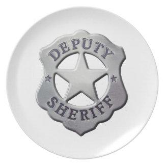 Deputy Sheriff Plate