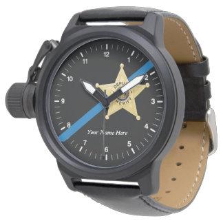 Deputy Sheriff Thin Blue Line Watch