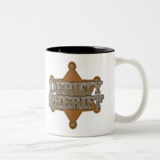 Deputy Sheriff Two-Tone Coffee Mug