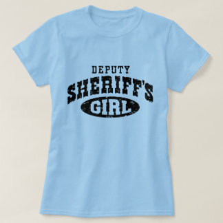 Deputy Sheriff's Girl T-Shirt