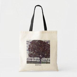 Der Apfelbaum By Klimt Gustav Tote Bags