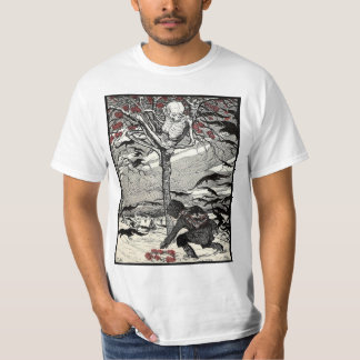 Der Tod im Baum T-shirt