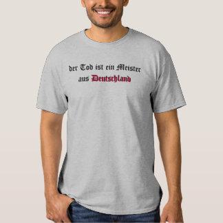 der Tod ist ein Meister aus Deutschland T-shirt