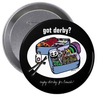 derby bento 10 cm round badge