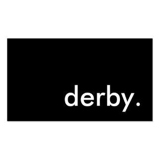 derby. business card