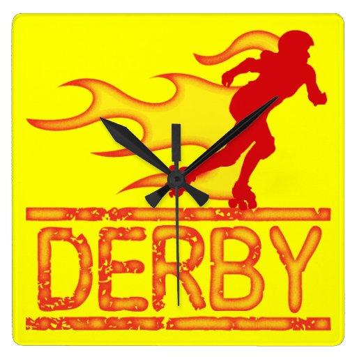 Derby Wall Clock