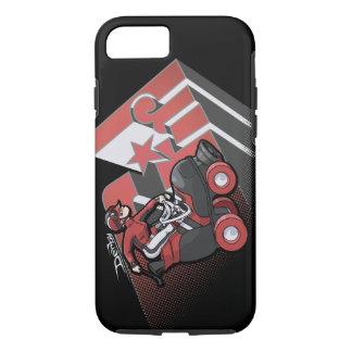 Derby Girl Red & Black Phone Case