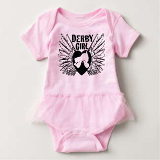 Derby Girl, Roller Derby Baby Bodysuit